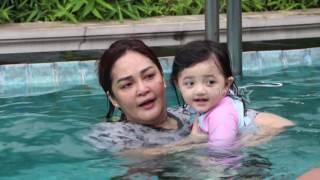 Arsy Belajar Berenang , Agus Kuncoro Bongkar Isi Mobil   Selebrita Pagi