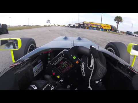 Robert Megennis, USF2000, Sebring test 2016