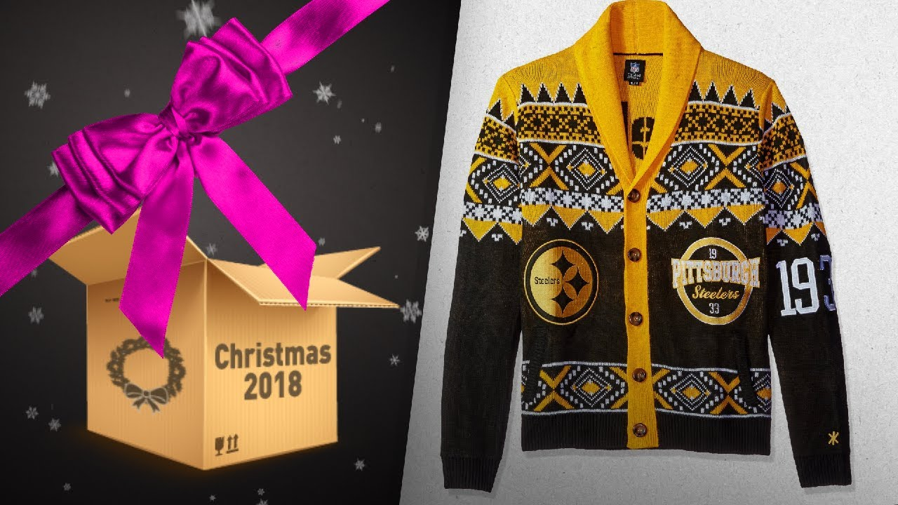 new concept c18e2 de3b2 Steelers Christmas Sweater Gift Ideas / Countdown To Christmas 2018! |  Christmas Gift Guide