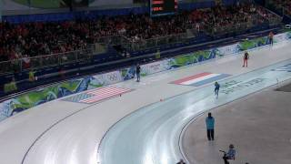 Women's 3000M Speed Skating - Complete Event - Vancouver 2010 Winter Olympic Games