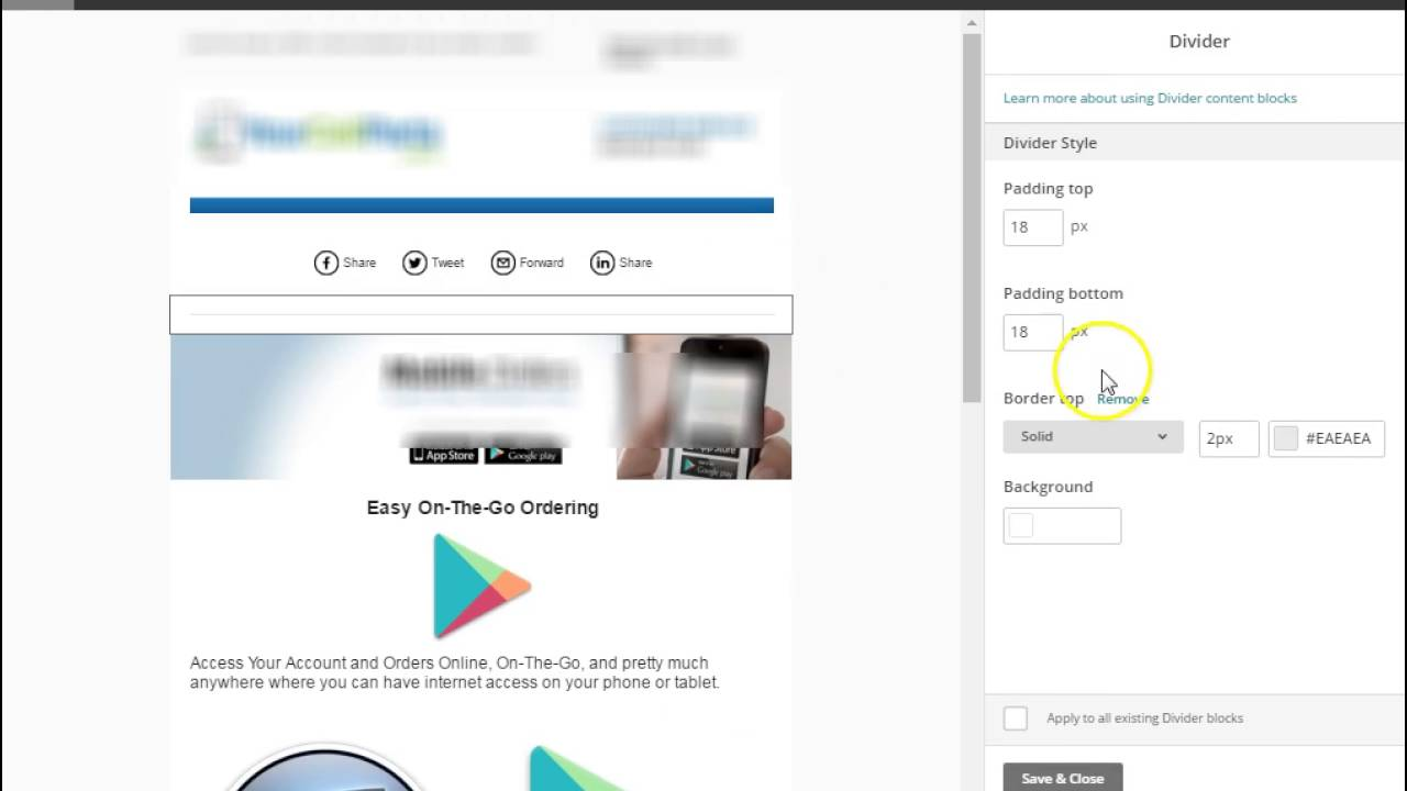 Background image mailchimp - How To Send E Mail Blast With Mailchimp Campaigns