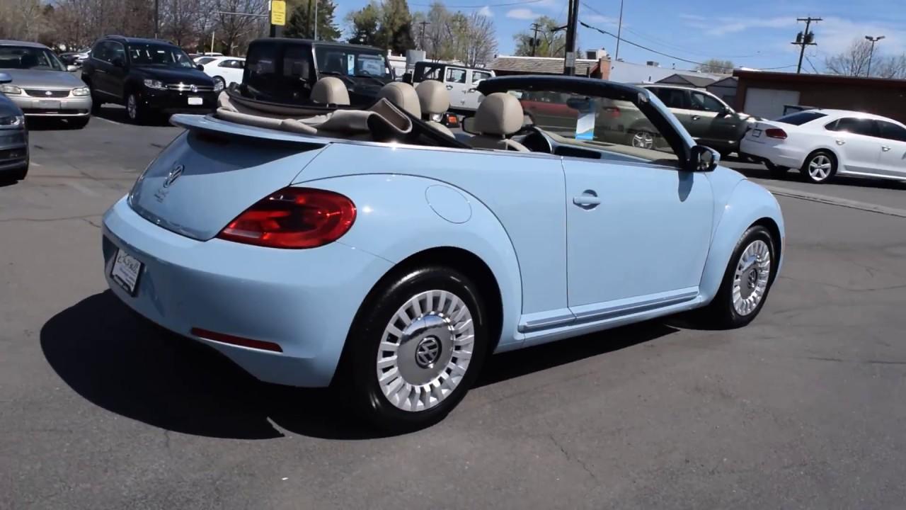 Larry Miller Volkswagen >> 2015 Volkswagen Beetle Convertible At Larry H Miller Volkswagen Lakewood