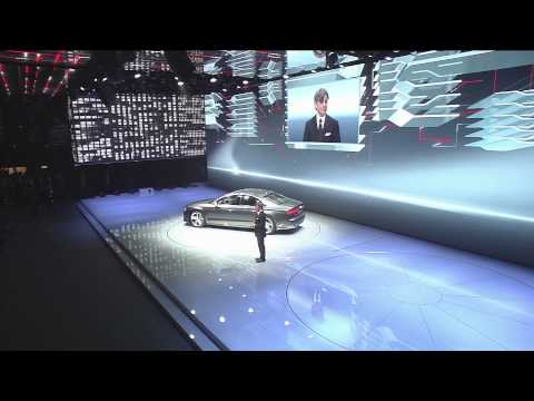 Audi press conference at the Frankfurt motor show IAA 2013