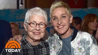 Ellen DeGeneres' Mother Breaks Silence On Daughter's Sex Abuse Claims | TODAY