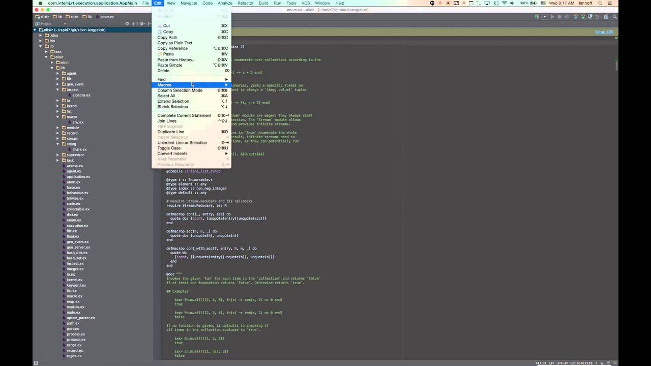 Find Module Usages in IntelliJ Elixir (v1 2 0)