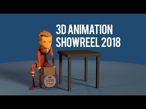 3D Animation Showreel 2018