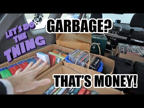 Selling Used Books, CDs, DVDs 2017 - Make Money Fast! -Calgary