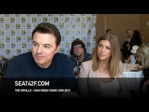 Seth MacFarlane, Adrianne Palicki THE ORVILLE  Comic Con HD