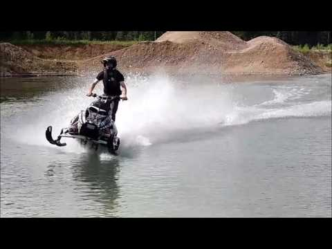 Snowmobile watercross edit
