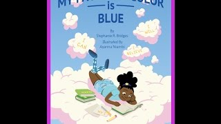 """My Favorite Color is Blue"" is also available in paperback and eboo..."