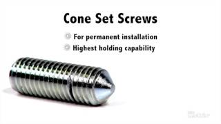 Metric Set Screws