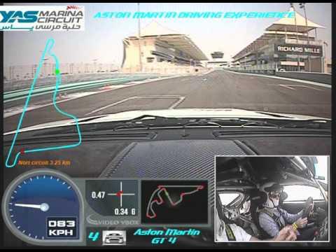 Aston Martin amateur drive in Abu Dhabi