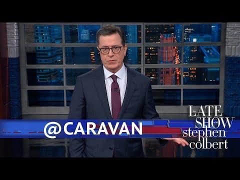 Trump Thinks The Migrant Caravan Is On Twitter