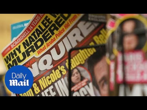 Owner of National Enquirer considering selling the tabloid