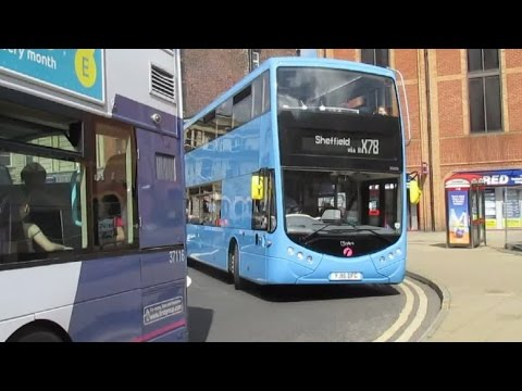 Buses Trains & Trams in Sheffield August 2016