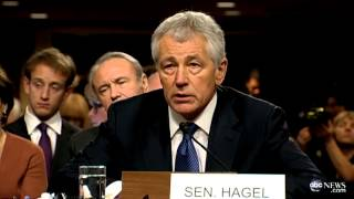 McCain Pushes Hagel:
