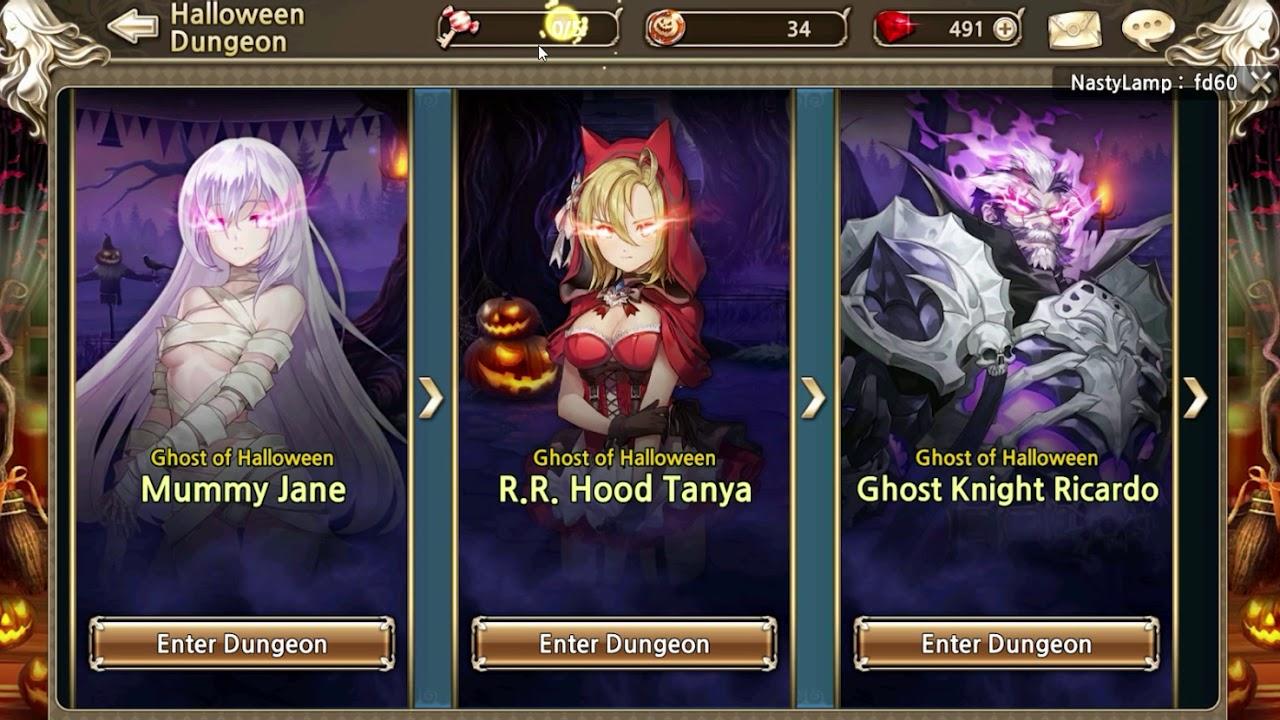 Kings Raid Halloween Dungeon 2020 King's Raid   Halloween Event   YouTube