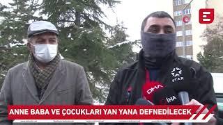 Eskişehir'de öldürülen anne baba ve çocuğun otopsi
