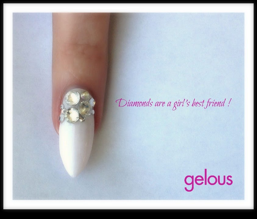 Nail Art For Beginners Youtube: Nail Art For Beginners Using Gelous Products