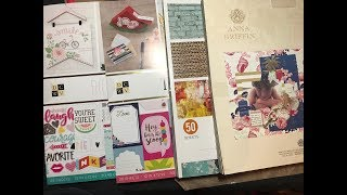 Flip Through Paper Pads from Joann's (DCWV & Anna Griffin)