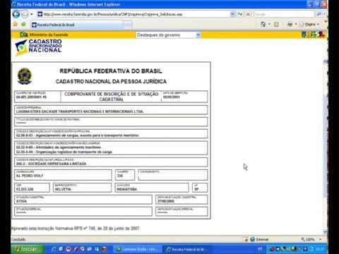 Consulta CNPJ - Veja aqui como consultar CNPJ Receita Federal