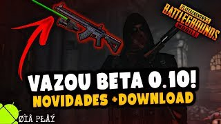 VAZOU BETA v0.10! PUBG MOBILE Play Store.