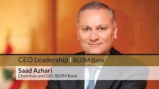 BLOM BANK – CEO LEADERSHIP SERIES