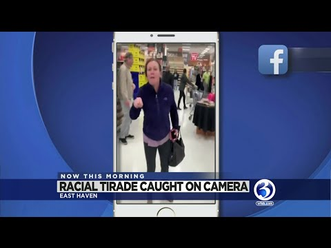 VIDEO: Racial tirade caught on camera East Haven