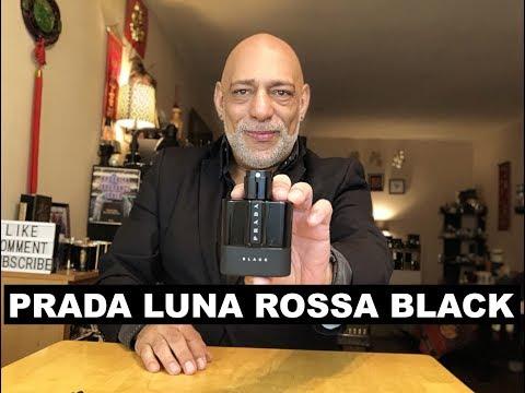 NEW Prada Luna Rossa Black Fragrance Cologne REVIEW