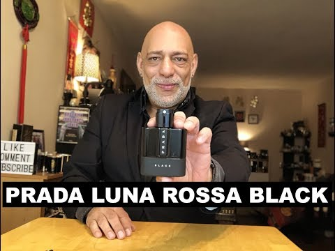 NEW Prada Luna Rossa Black Fragrance Cologne REVIEW