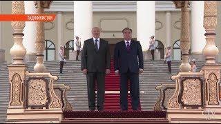 Александр Лукашенко и Эмомали Рахмон подписали стратегический план сотрудничества