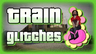 Train Glitches - GTA V PC
