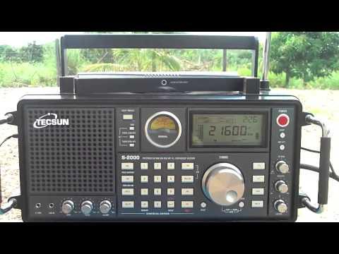 21600 khz World Harvest Radio  , Shortwave Radio from United States of America