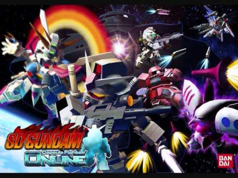 SD Gundam Capsule Fighter - Old Lobby Music
