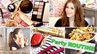 Party ROUTINE ♡ Glam Look + Abendroutine danach
