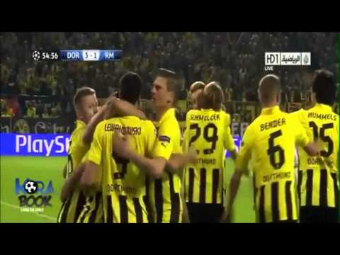 Borussia Dortmund vs Real Madrid [4-3] Semifinales Champions League 2012/13