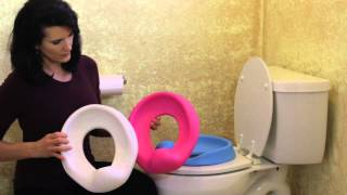 Comfy Contoured Potty Seat [675-7] - 3 Color Variations