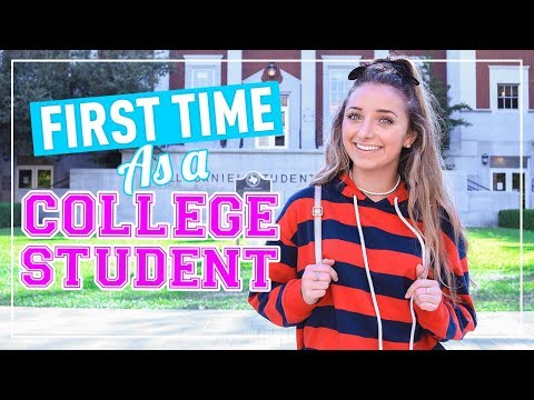 Day in the Life of a COLLEGE STUDENT! | University Freshman Daily Routine