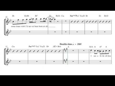 Violin - Bohemian Rhapsody - Queen Sheet Music, Chords, and Vocals