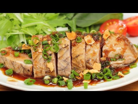 Bonito Steak (Skipjack Tuna Steak Recipe) | Cooking With Dog