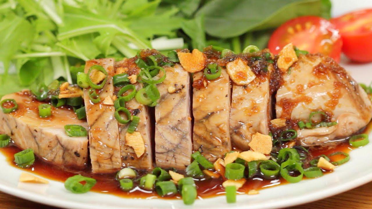 Bonito steak skipjack tuna steak recipe cooking with for How to cook tuna fish