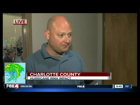 Charlotte County emergency management coordinator says updated storm surge forecasts are better tha