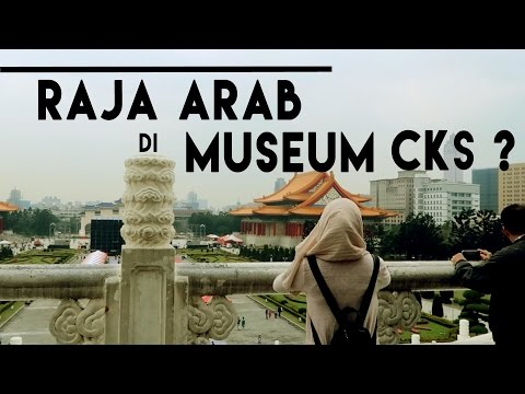 Gaptek di Museum Chiang Kai Shek | Jalan Jalan Taipei | 10th - escape story