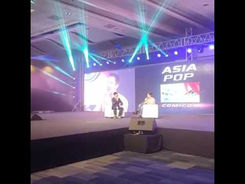 Chico Garcia Interviews Joe Dempsie at Asia Pop Comicon