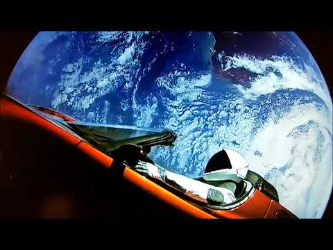 Space Oddity: Tesla Roadster And Starman On Their Way To Mars