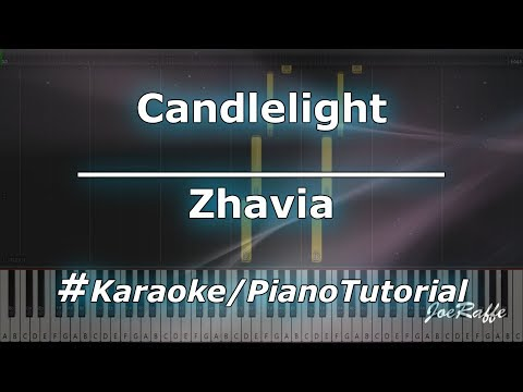 Zhavia - Candlelight KaraokePianoTutorialInstrumental
