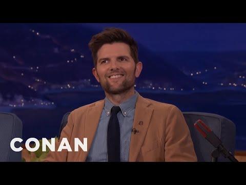 """Adam Scott On Replacing Bradley Cooper In """"Wet Hot American Summer""""  - CONAN on TBS"""