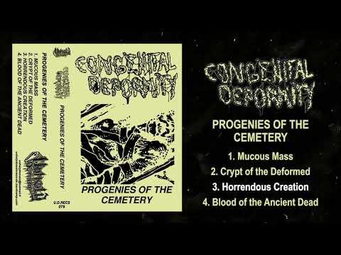 Congenital Deformity - Progenies of the Cemetery FULL EP (2020/2019 - Death Metal / Doom Death)