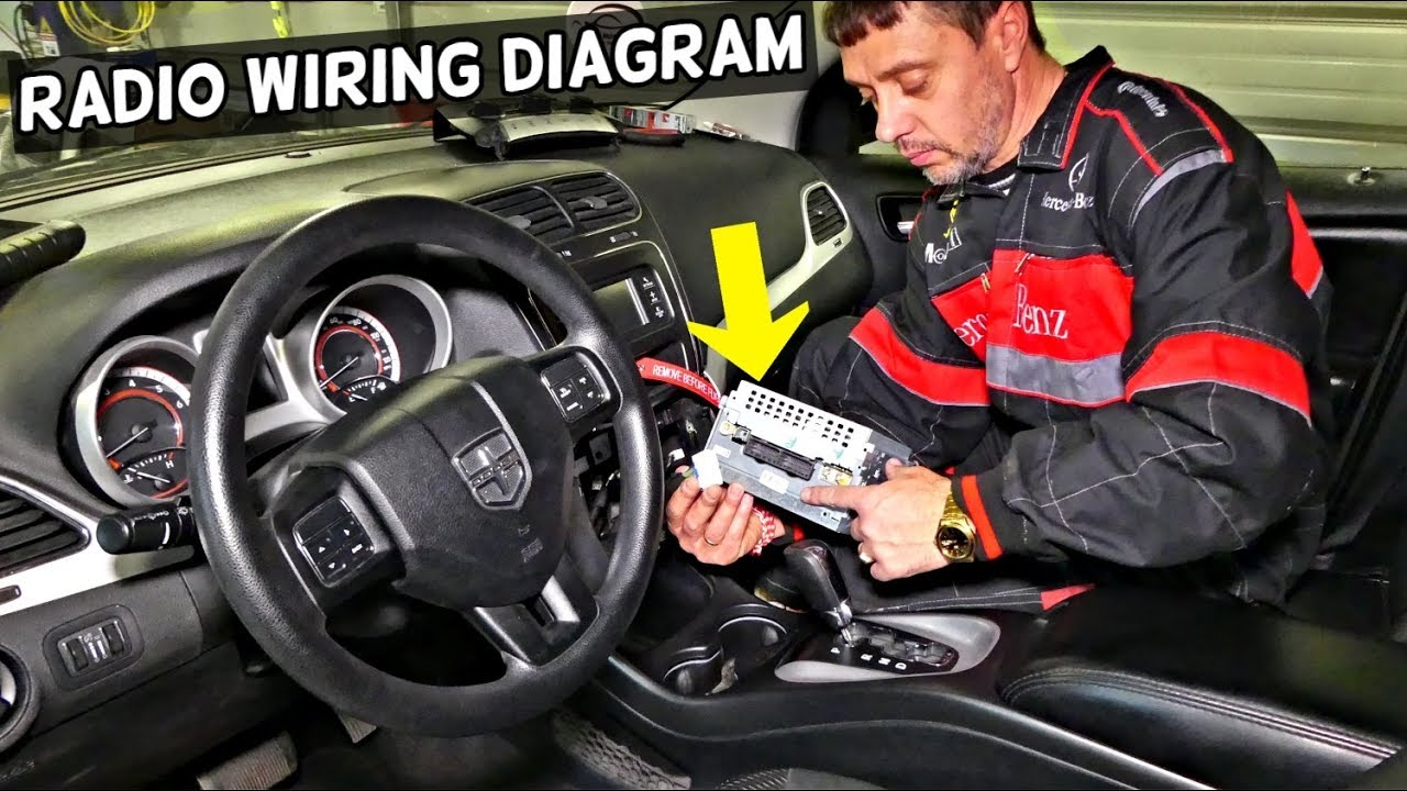 dodge journey radio wiring diagram fiat freemont front speakers rear speakers [ 1280 x 720 Pixel ]