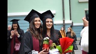 Бъдещи мениджъри се дипломираха във Варна - Тържествена церемония Випуск 2017, факултет ''Управление''
